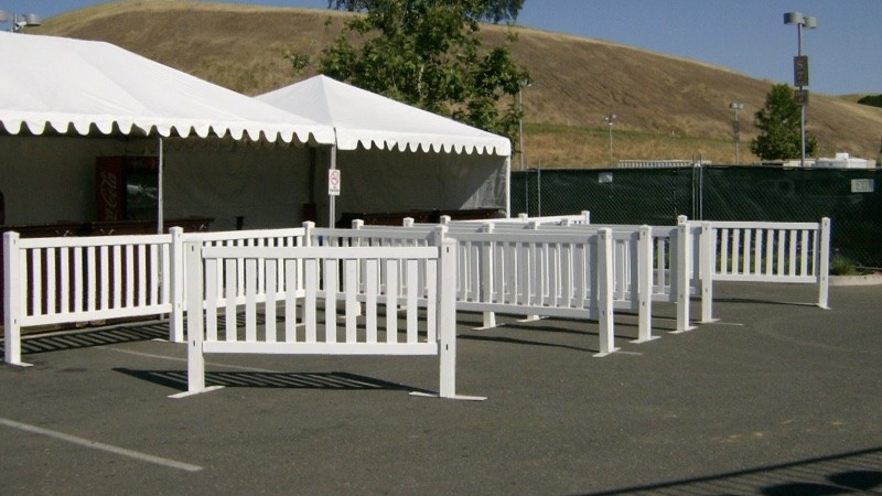 Cache Creek Picket Fence At Ticket Area 2